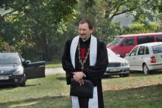 Jako každoročně, iletos přijel patriarcha Církve československé husitské