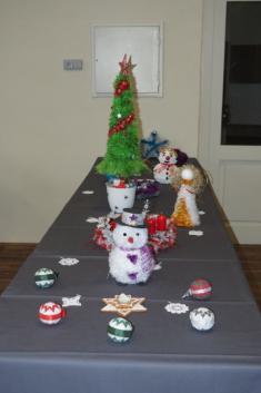 Slavnostně vyzdobený stůl vKD