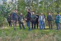 Čejetičtí účastníci čekají nastřelby