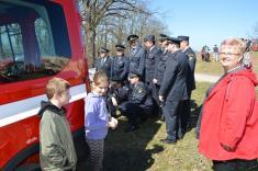 Zúčastnila sepočetná skupina čejetických hasičů