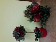 Tvoření vánočního věnce