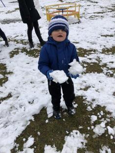 Konečně napadl sníh