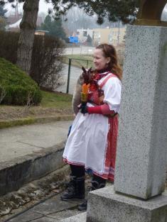 Naše muzikantská Eliška Nováků. Byla úžasná! Umí krásně hrát azpívat!