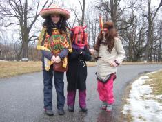 Děti vzaly masopust vážně, masky mají krásné