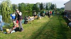 Rybářské závody ke Dni dětí