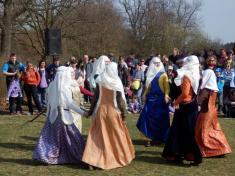 Ukázka středověkých tanců